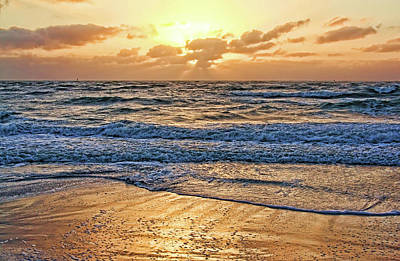Photograph - Golden Sands by HH Photography of Florida