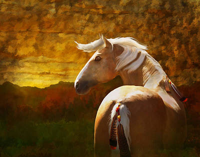 Photograph - Golden Scout by Melinda Hughes-Berland