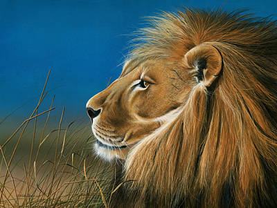 Painting - Golden Sentinal by Mike Brown