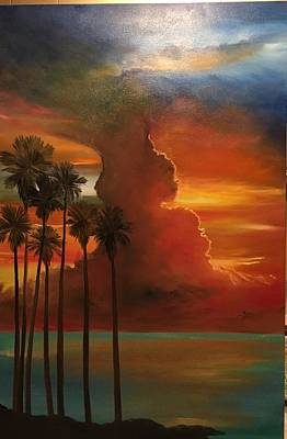 Painting - Golden Skies by Patti Lane