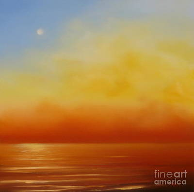 Painting - Golden Sky - Red Glow by Jennifer Cruden