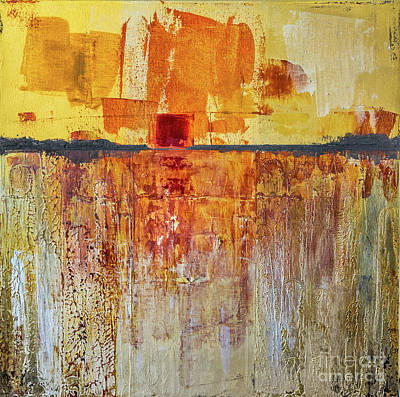 Painting - Golden Sky by Susan Cole Kelly Impressions