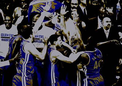 Golden State Warriors 2015 Finals Art Print by Brian Reaves
