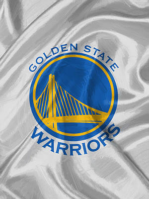 Sport Painting - Golden State Warriors by Afterdarkness