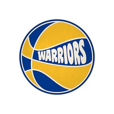 Clip Art Photograph - Golden State Warriors Retro Shirt by Joe Hamilton