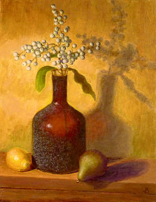 Painting - Golden Still Life by Joe Bergholm