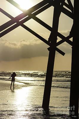 Photograph - Golden Stroll by Jennifer White