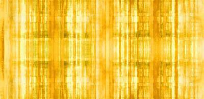 Fashion Abstraction Painting - Golden Sun by Ab Stract