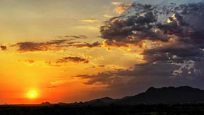 Photograph - Golden Sun  by Saija Lehtonen