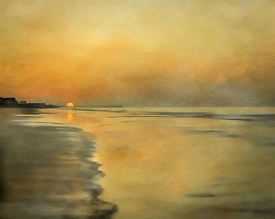 Photograph - Golden Sunrise by Erwin Spinner