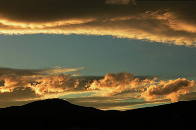 Photograph - Golden Sunset At Cromwell by Nareeta Martin