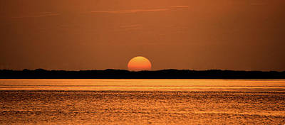 Photograph - Golden Sunset by David Lee Thompson