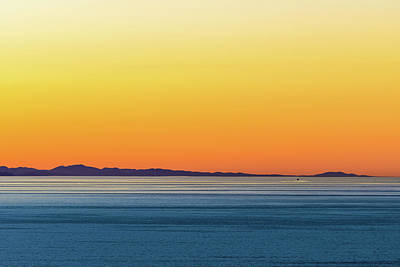 Photograph - Golden Sunset Series I by Debbie Ann Powell