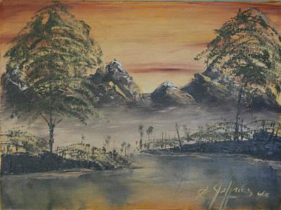 Golden Sunset Art Print by Gregory Jeffries
