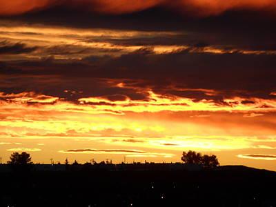 Photograph - Golden Sunset II by Mark Lehar