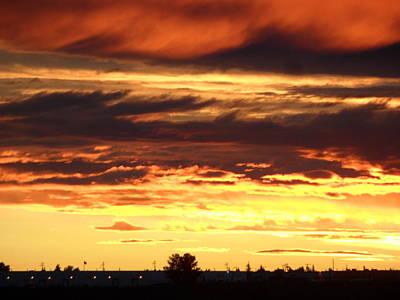Golden Sunset IIi Art Print by Mark Lehar