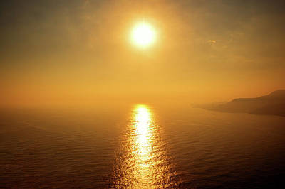 Photograph - Golden Sunset In Alanya by Sun Travels
