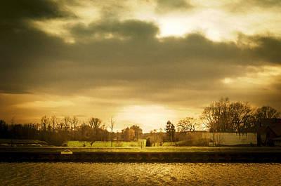 Herbstfarben Photograph - Golden Sunset by Kai Jarchow