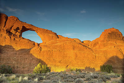 Photograph - Golden Sunset Over The Arches by Kunal Mehra