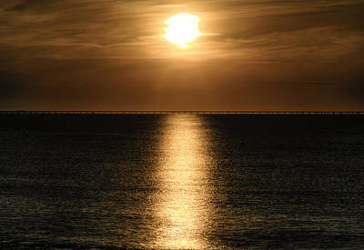 Photograph - Golden Sunset by Pete Federico