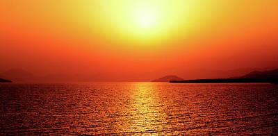 Photograph - Golden Sunset by Sun Travels