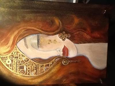 Painting - Golden Tears by Maureen Pisano