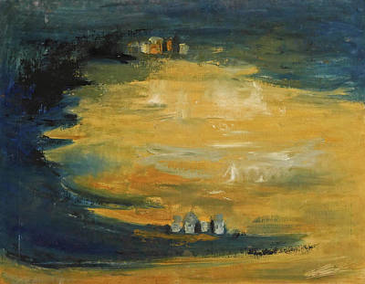 Painting - Golden Tide by Phyllis Hanson Lester
