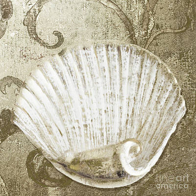 Golden Tides Art Print by Mindy Sommers