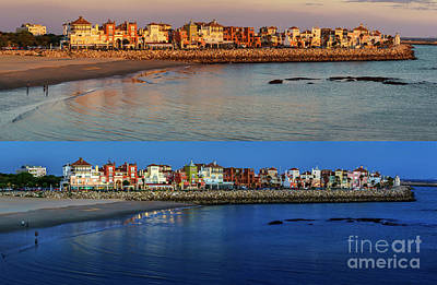 Photograph - Golden To Blue Hour Puerto Sherry Cadiz Spain by Pablo Avanzini