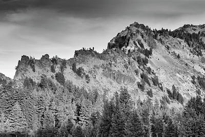 Photograph - Golden Trail Crater Lake Rim by Frank Wilson