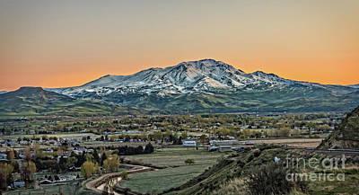 Photograph - Golden Valley by Robert Bales
