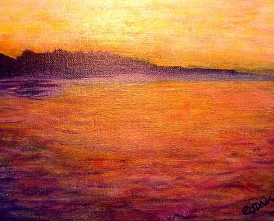 Golden View Original by Joyce Dell