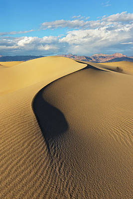 Death Valley - Golden Wave Art Print