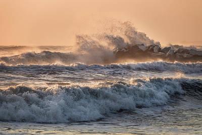 Photograph - Golden Waves by Matteo Viviani
