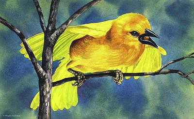 Painting - Golden Weaver by Douglas Castleman