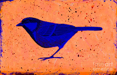 Painting - Golden Whistler Uv by Stefanie Forck