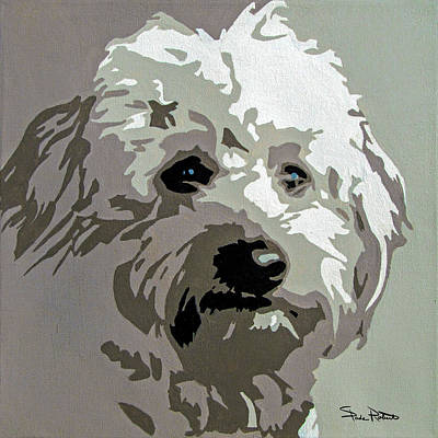 Painting - Goldendoodle by Slade Roberts