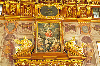 Photograph - Goldener Saal Im Rathaus by Robert Meyers-Lussier
