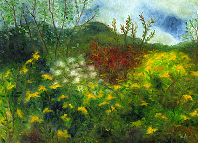 Painting - Goldenrod by FT McKinstry
