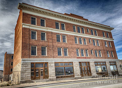 Photograph - Goldfield Hotel by David Millenheft