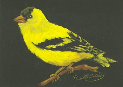 Painting - Goldfinch 2 by Ruth Seal