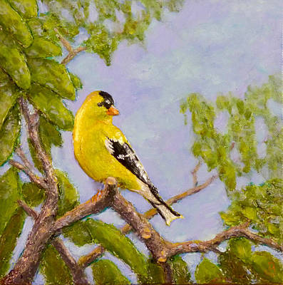 Painting - Goldfinch by Joe Bergholm