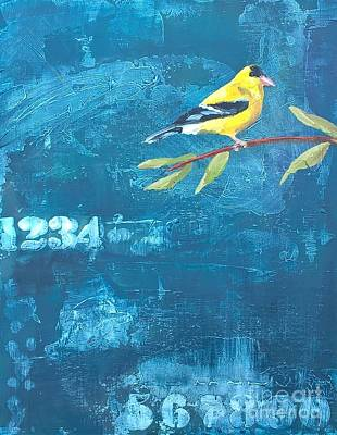 Painting - Goldfinch by Lisa Dionne
