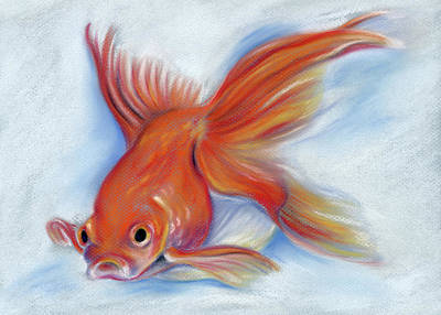 Pastel - Goldfish by MM Anderson