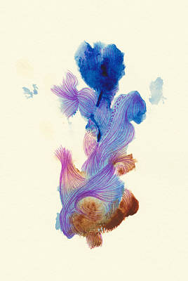 Goldfish- #ss14dw031 Art Print by Satomi Sugimoto