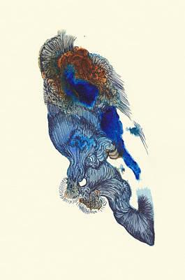 Goldfish- #ss14dw033 Art Print by Satomi Sugimoto