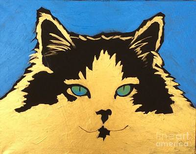 Painting - Goldie by Barbara Tibbets