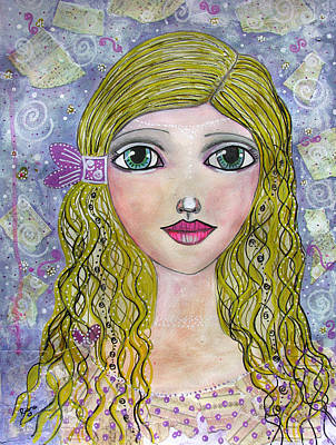 Drawing - Goldilocks  by Riana Van Staden