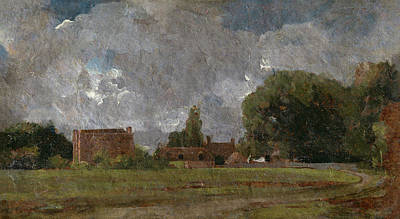 House Painting - Golding Constable's House, East Bergholt by John Constable