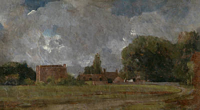 Painting - Golding Constable's House by John Constable